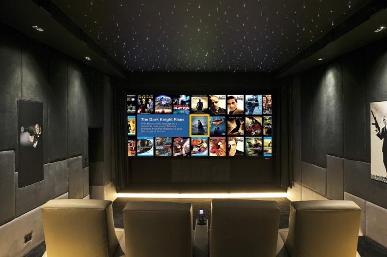 Vidoprojecteur Home Cinema pour un intrieur ultra moderne