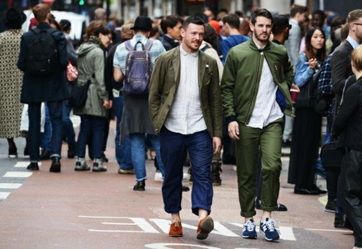 tendance homme mode veste kaki jeans tendances mode