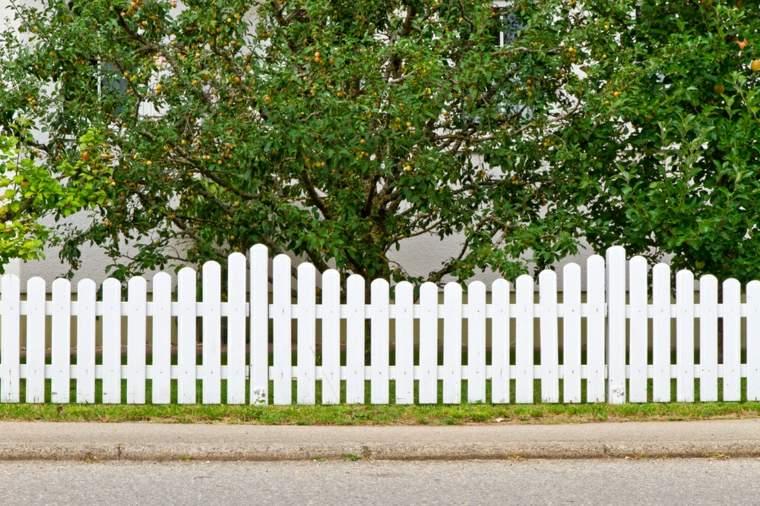 cloture jardin bois pour un exterieur