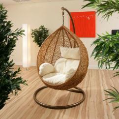 Outdoor Pod Chair Dining Room Loose Covers Meuble En Rotin Pour Un Intérieur Moderne Et Authentique