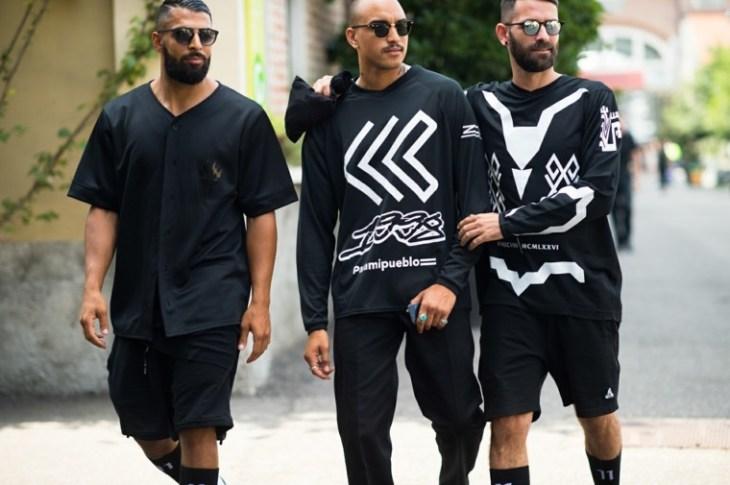 mode tendance noir moderne t-shirt sweat idée