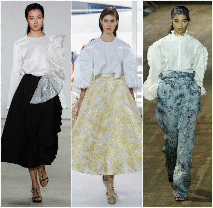mode printemps été 2016 plisses