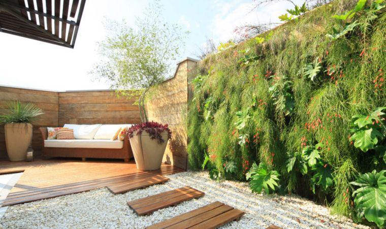 Jardins Et Terrasses Mur Vegetal Idees Creation Diy L