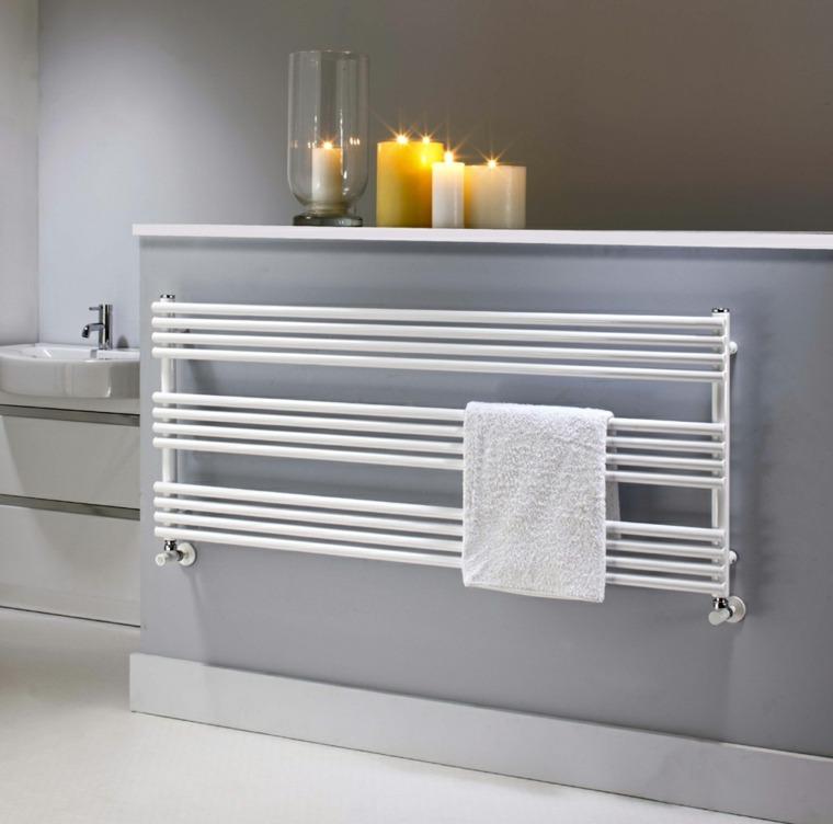 Radiateur design et sche serviette pour la salle de bain