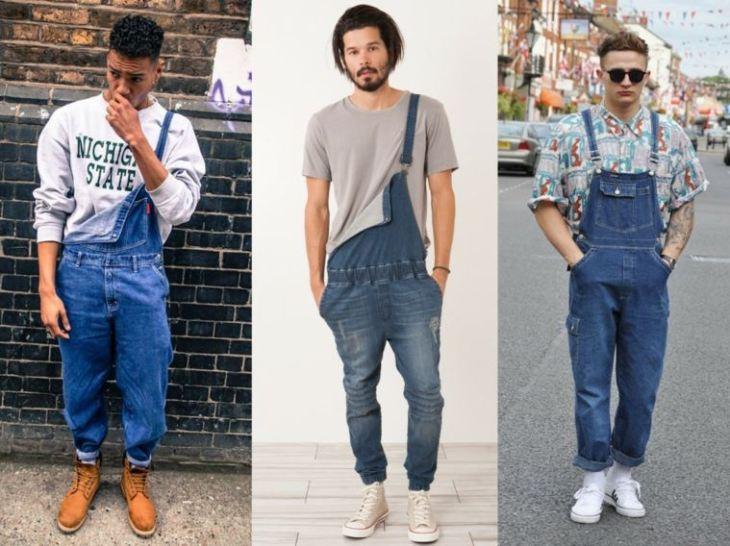 mode tendance homme combinaison jean tendance