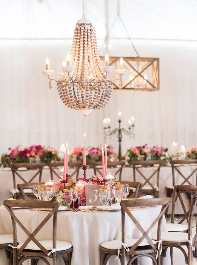 60 Ides Pour La Dco Mariage Avec Centre De Table Fleurs