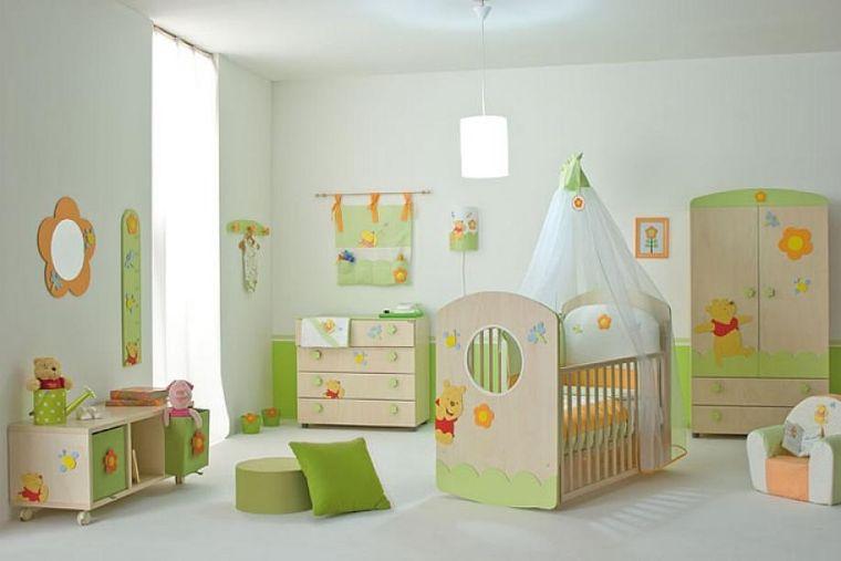 Chambre bb fille en nuances de vert inspirantes