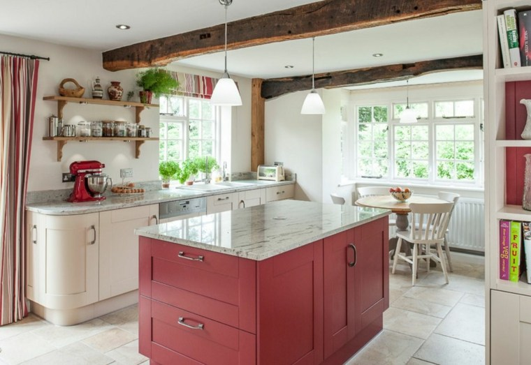 50 ides originales pour la dco cuisine rouge  vous faire dcouvrir