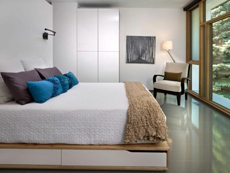 lit avec rangement idee creative pour