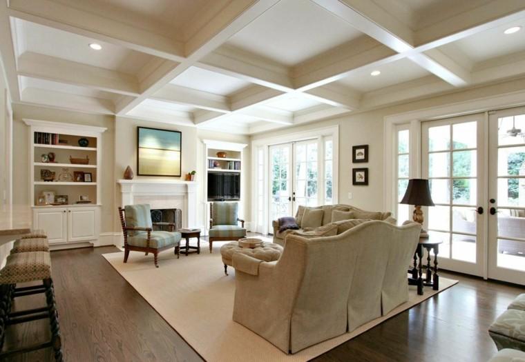 Amnager une pice avec un haut plafond design