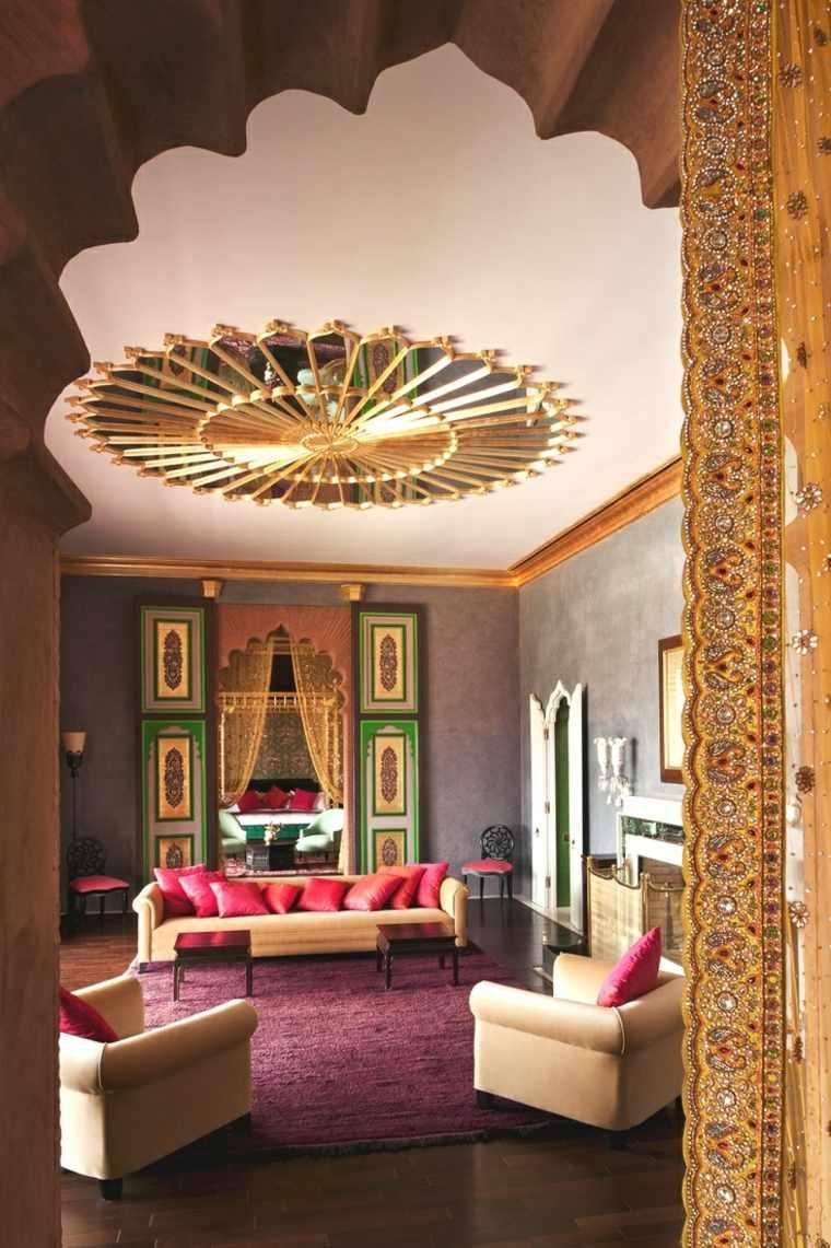 Salon moderne oriental dinspiration marocaine