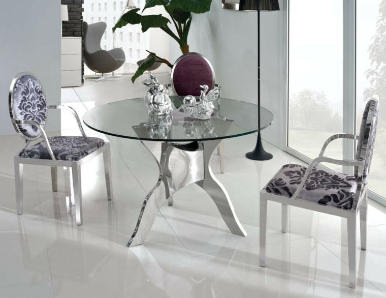 Table à Manger Design Moderne Et Contemporain En Verre