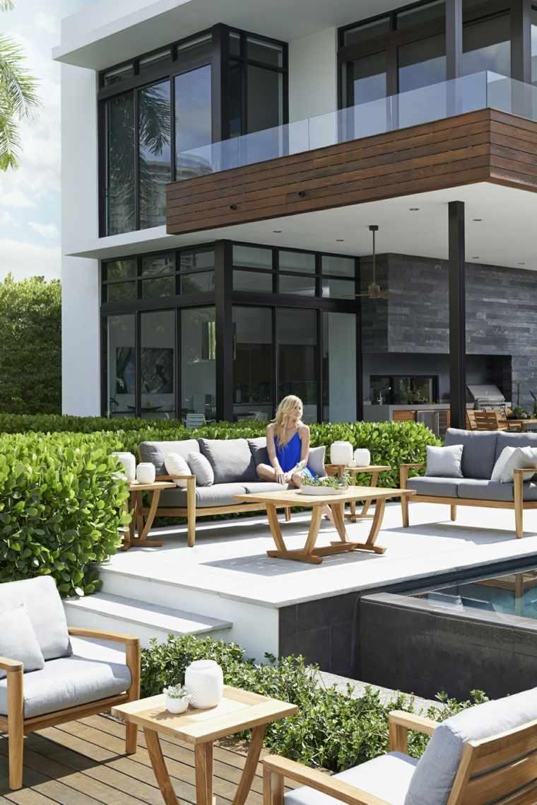 Idée Jardin Et Terrasse  Créer Un Salon De Jardin Convivial
