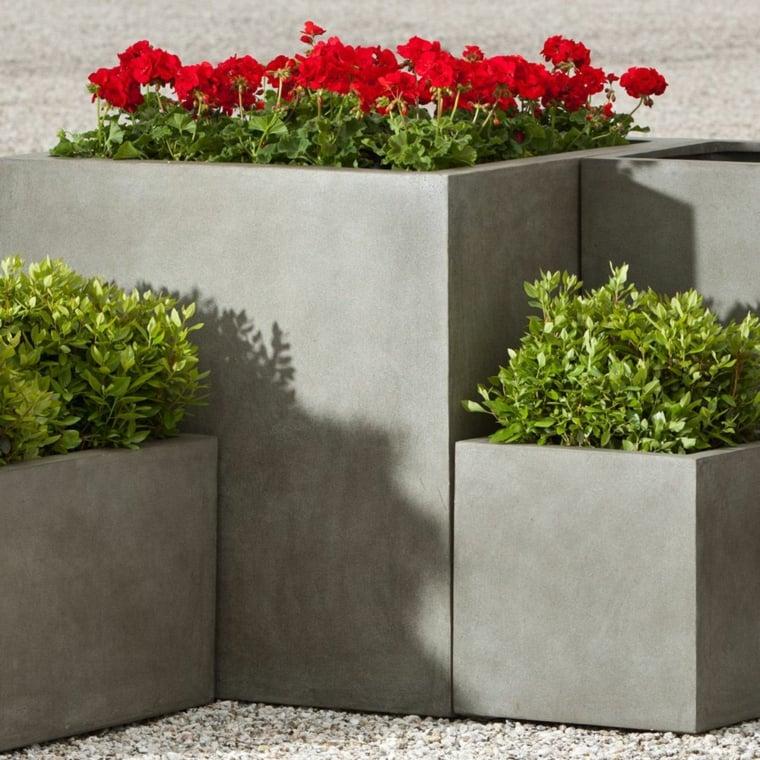 jardiniere beton 27 idees sympas pour