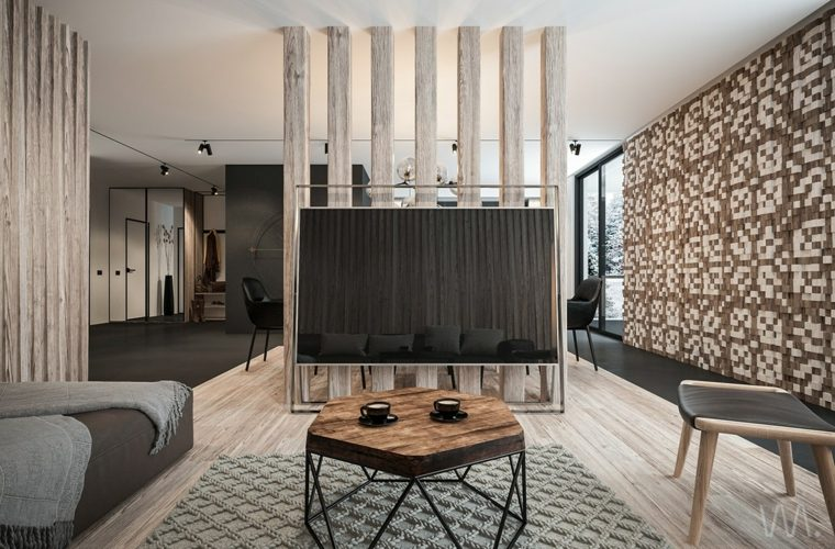 Habillage Mural Et Luminaires Design Pour La Dco Intrieure