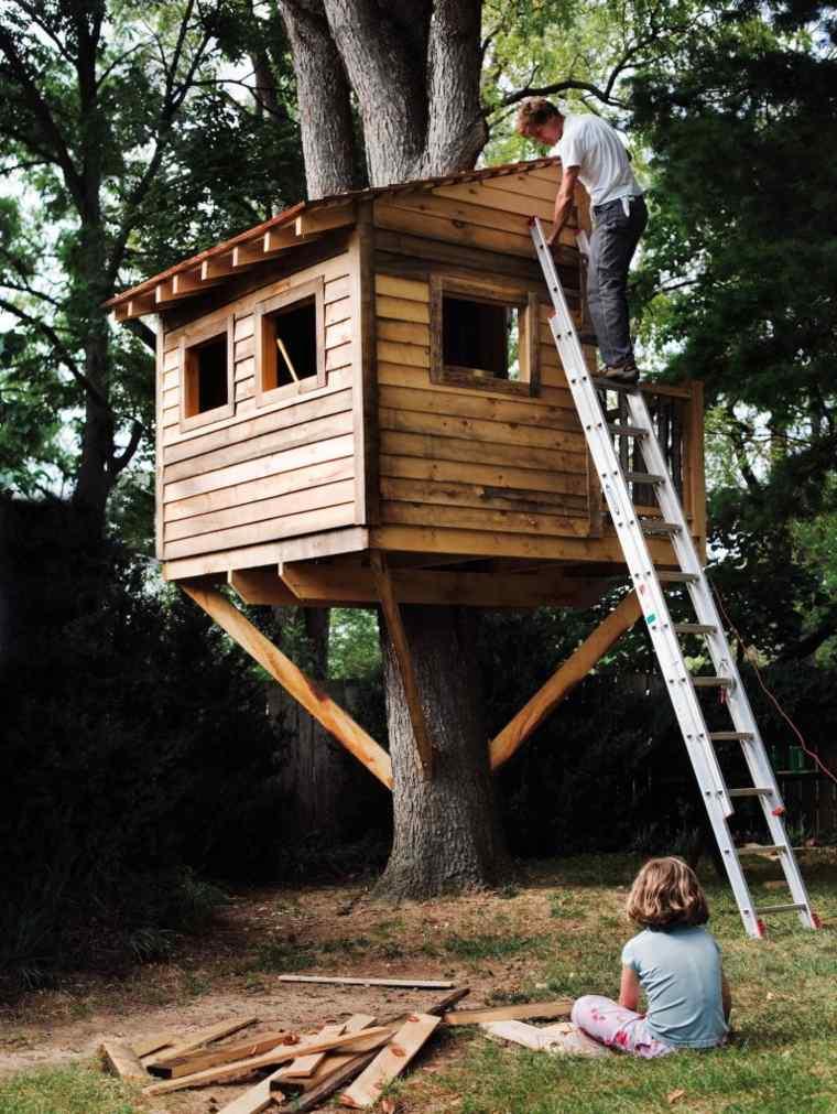 Construire Cabane Dans Les Arbres : construire, cabane, arbres, Cabanes, Arbres, Idées, Construction, Déco