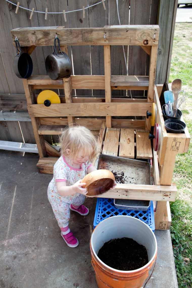 dinette cuisine en bois