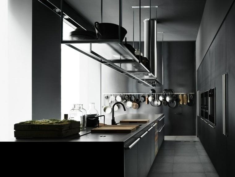cuisine moderne grise
