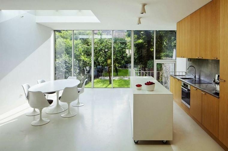 Le lot  roulettes qui va pimenter le design de votre cuisine