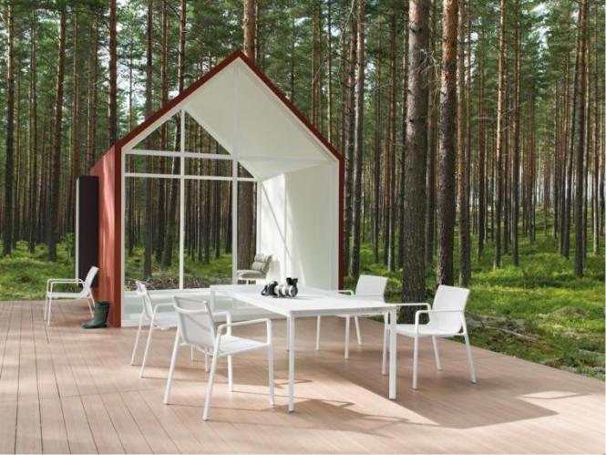 Salon De Jardin Design En Fer Haut Gamme