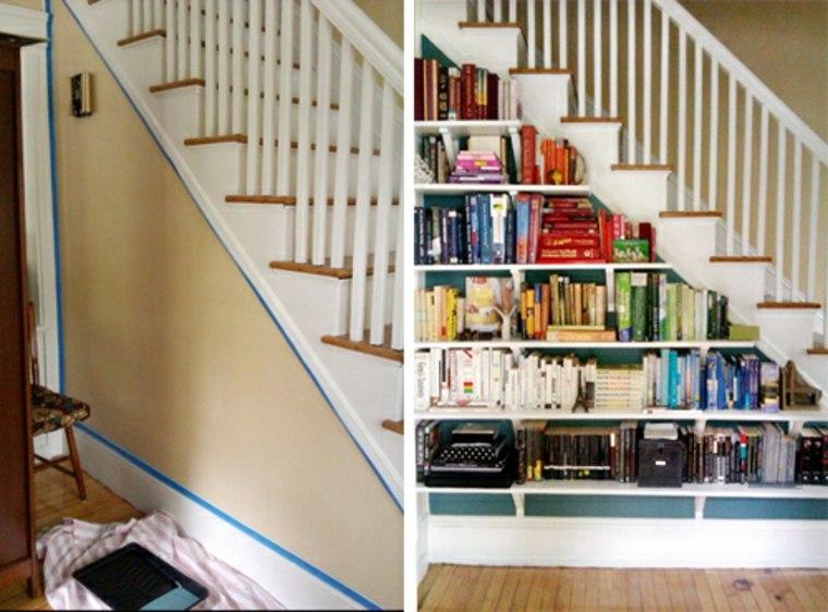 la bibliotheque escalier un espace