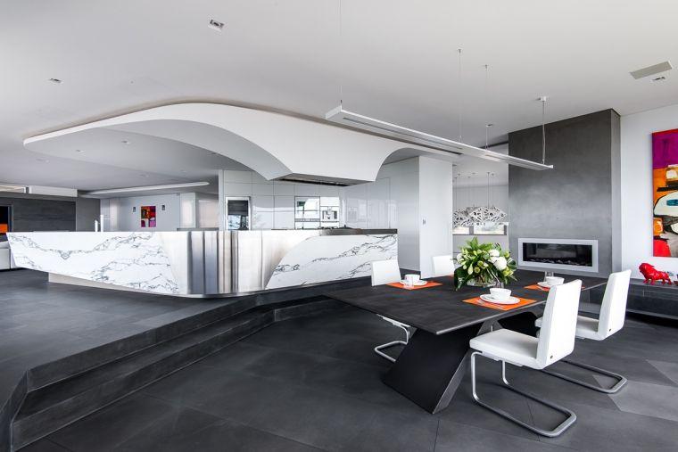 salle a manger design contemporain