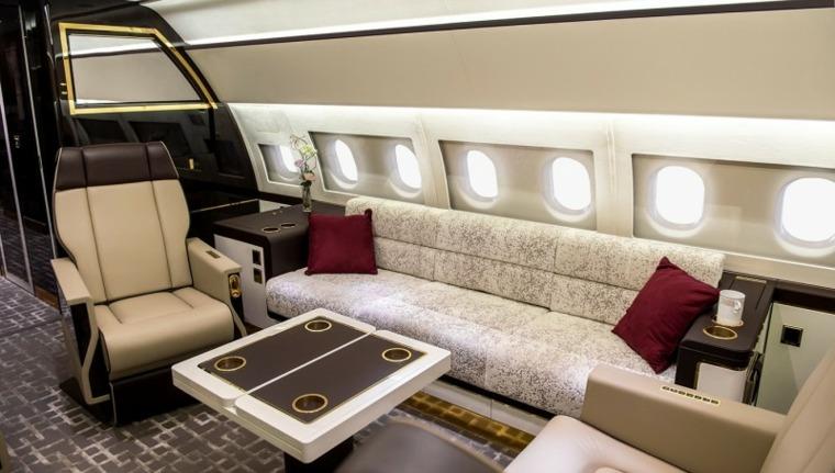 Avion De Luxe Intrieurs Pour Des Vols Privs Tout Confort