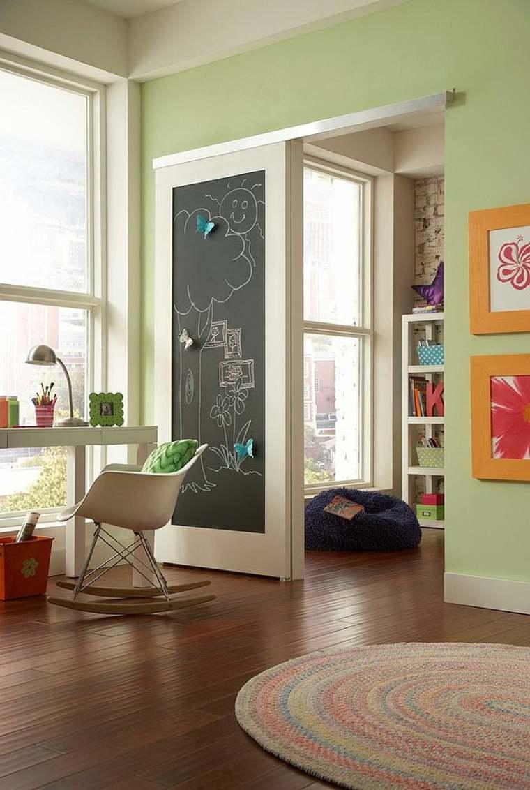 La porte de grange sinvite dans la chambre enfant