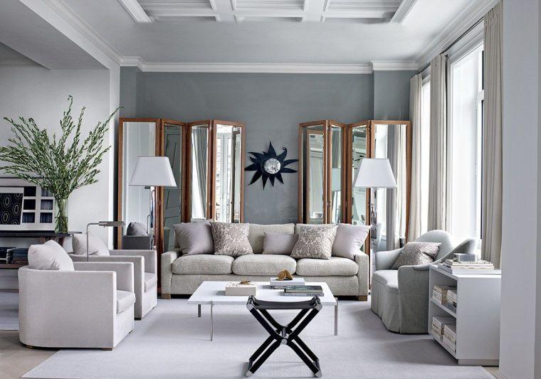 deco salon gris et blanc 28 modeles