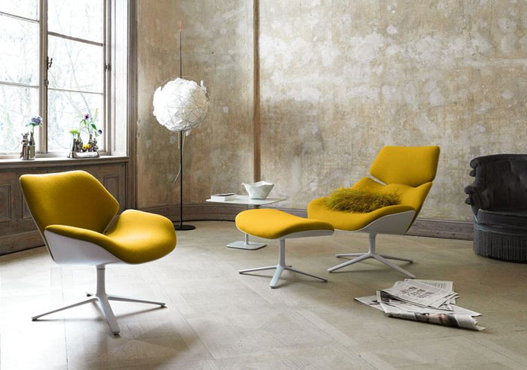 Fauteuils design et chaises contemporaines pour lintrieur