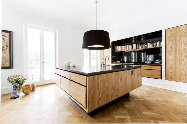 Meuble Moderne Pour Cuisine Bois Dambiance Authentique