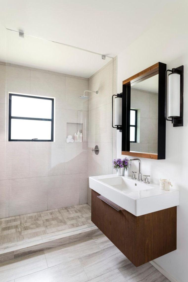 Rnovation salle de bain petit espace nos ides de couleurs
