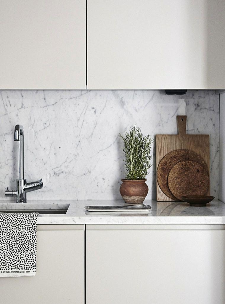 cuisine marbre finesse et elegance
