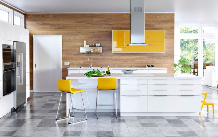Photo cuisine Ikea  45 ides de conception inspirantes