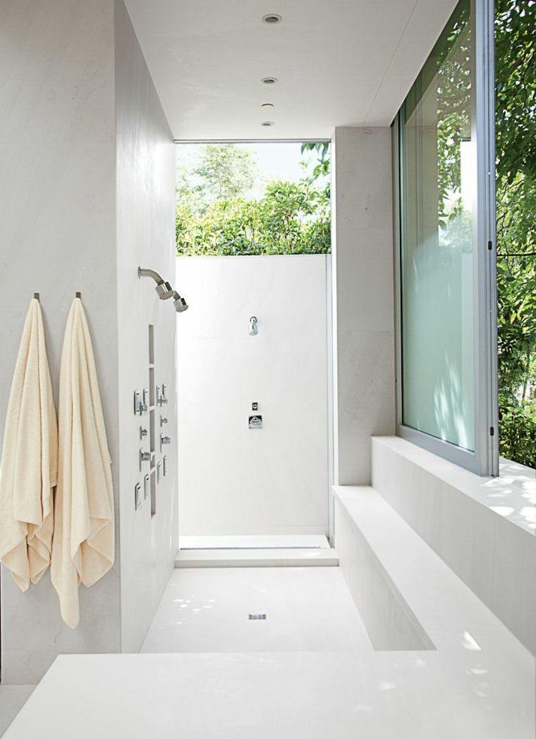 Ides salle de bain avec douche design