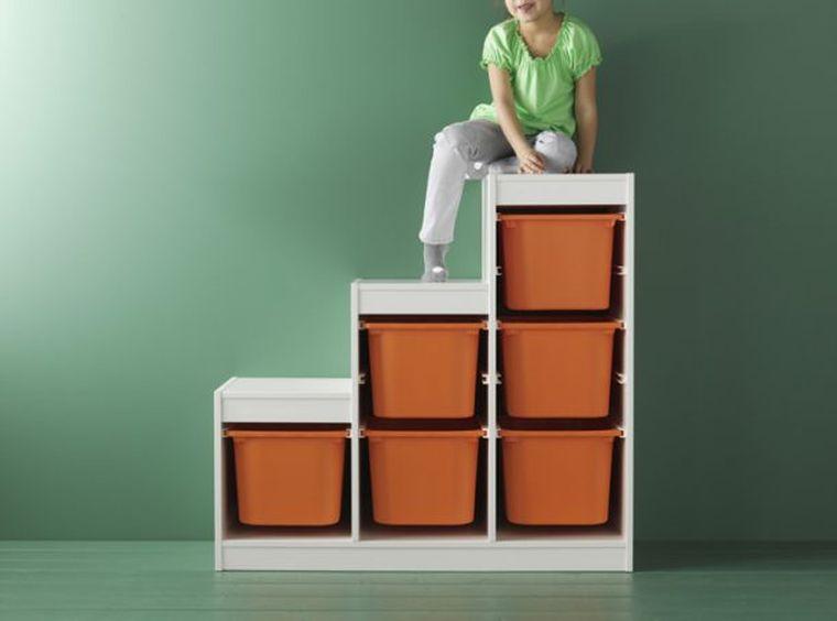Ide rangement chambre enfant avec meubles Ikea