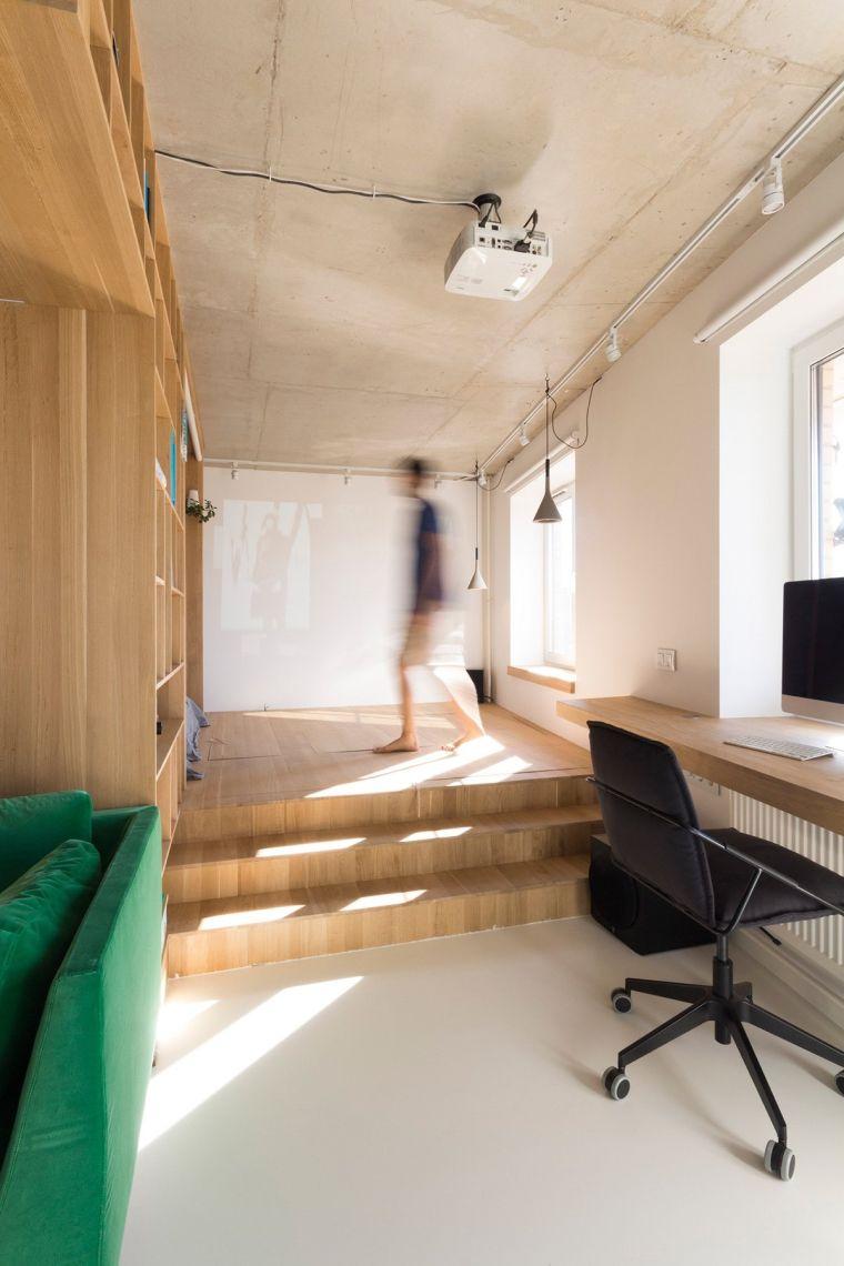 Amnager un studio  intrieur exemplaire par Rue Temple