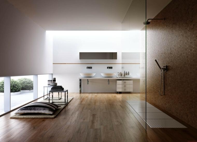 salles de bains moderne idee deco zen salle de bain bois minimaliste