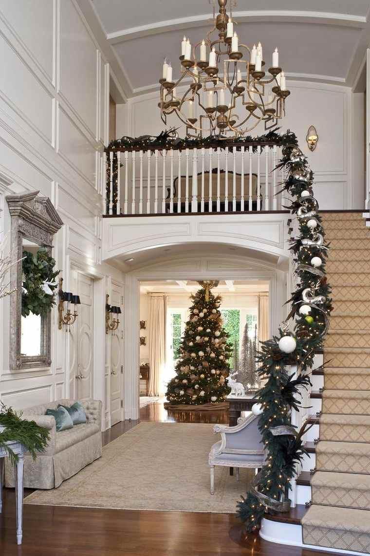 Nol dco escalier  ornements magnifiques pour lintrieur
