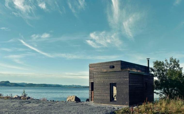 Petite Maison En Bois Ultra Moderne En Norvge