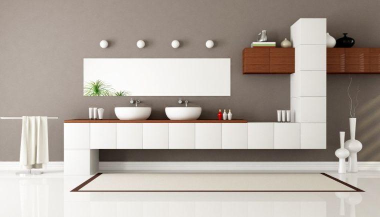 salle de bain gris et blanc en 27