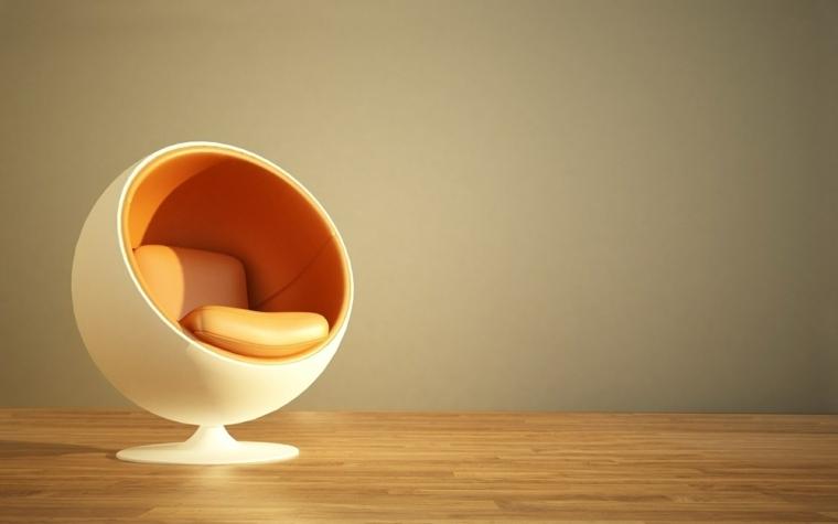 chaise contemporaine pour un salon moderne
