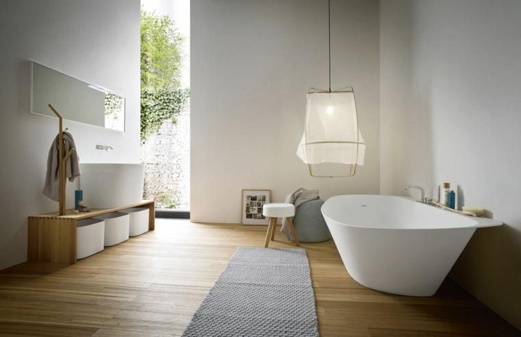 salle de bain en bois de style epure design monica graffeo quelle couleur