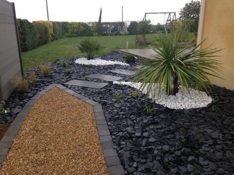 Modle de jardin avec galets en 26 exemples inspirants