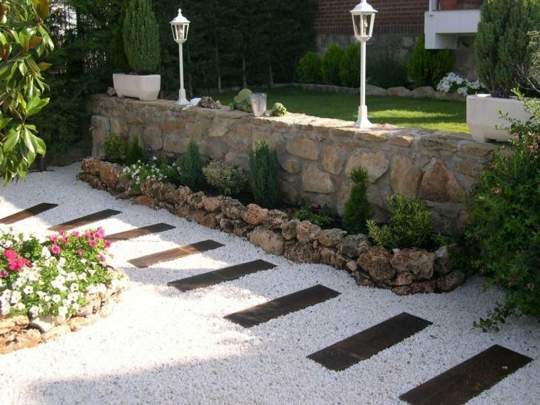 Super Amenagement Jardin Avec Gravier. Decoration Gravier Jardin With  ZY14