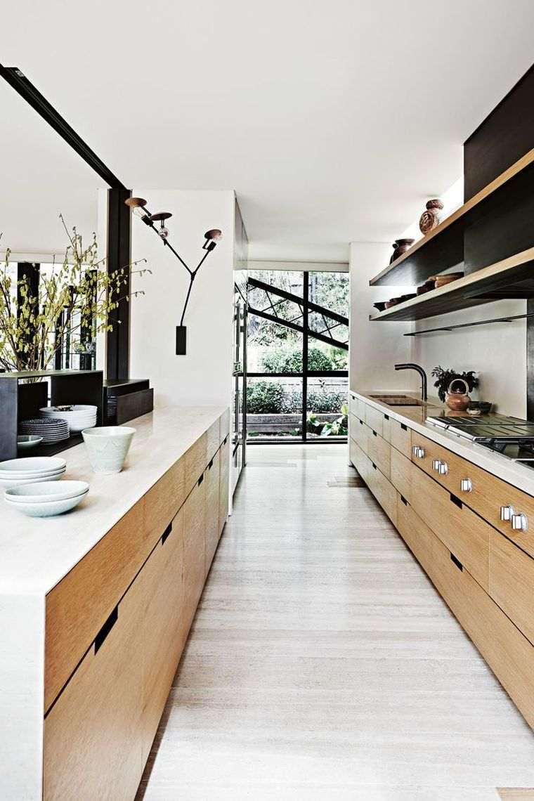 comment amenager une cuisine en longueur