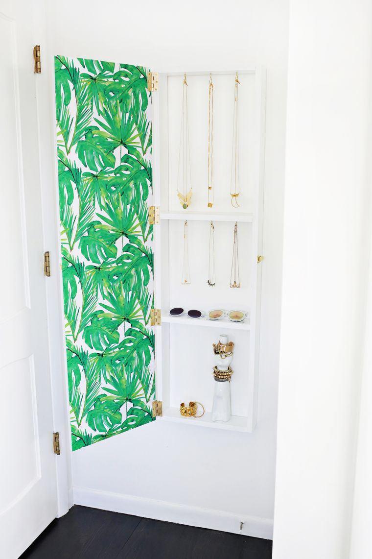 DIY rangement chambre pour articles de mode et de beaut