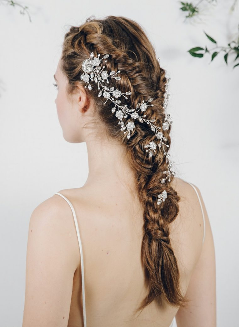 Accessoire Cheveux Mariage 35 Modles De Bijoux Pour