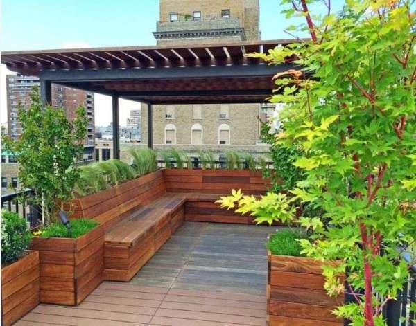 25 Modren Rooftop Landscaping Design Pinterest Pictures And Ideas