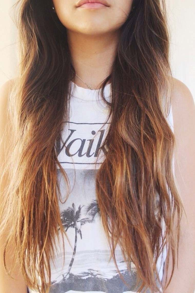 Ombr hair cheveux courts et ombr hair cheveux longs